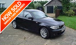 a picture of a bmw 1 series